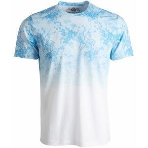 NWT American Rag men's Ombre' Floral T-Shirt. L